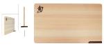 Shun DM0806 Shun Hinoki Wood Cutting Board w/ Built-In Stand