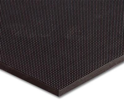 NoTrax 65856 Finger Scrape Entrance Floor Mat, 36 x 60 in, 3/8 in Thick, Black