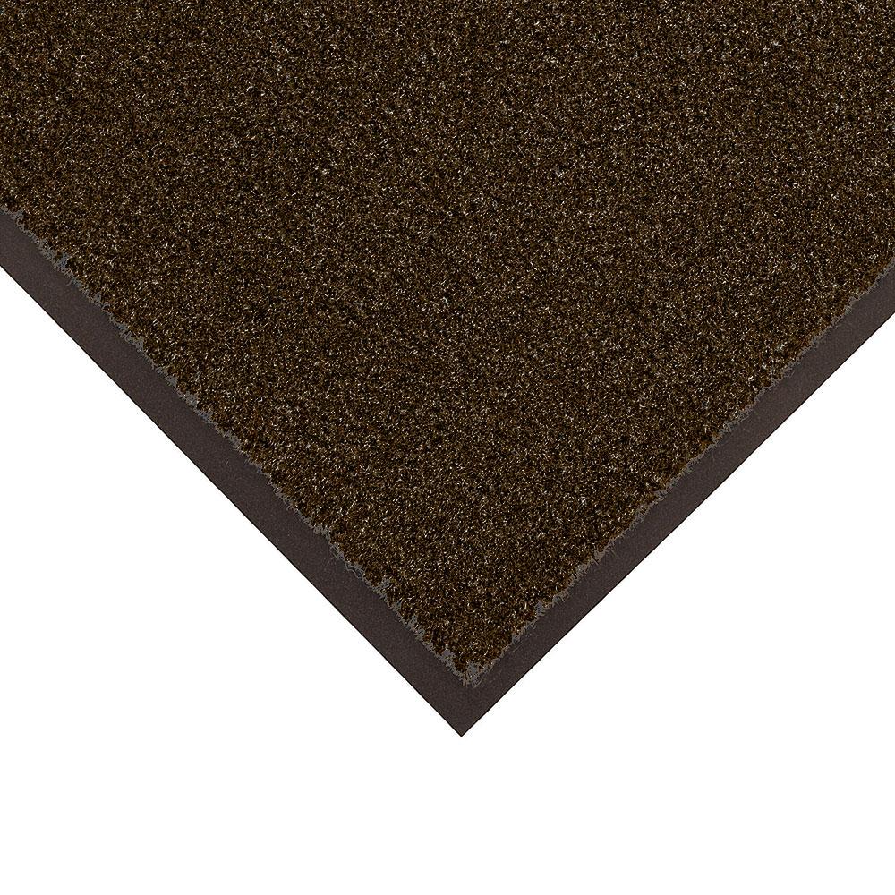 NoTrax 434-318 Atlantic Olefin Floor Mat, Exceptional Water Absorbtion, 3 x 10 ft, Dark Toast