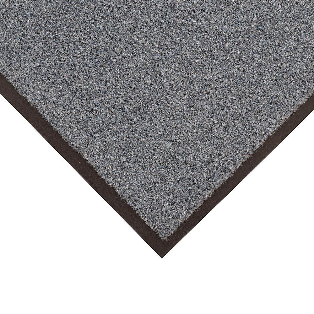 NoTrax 434-328 Atlantic Olefin Floor Mat, Exceptional Water Absorbtion, 4 x 6 ft, Gun Metal