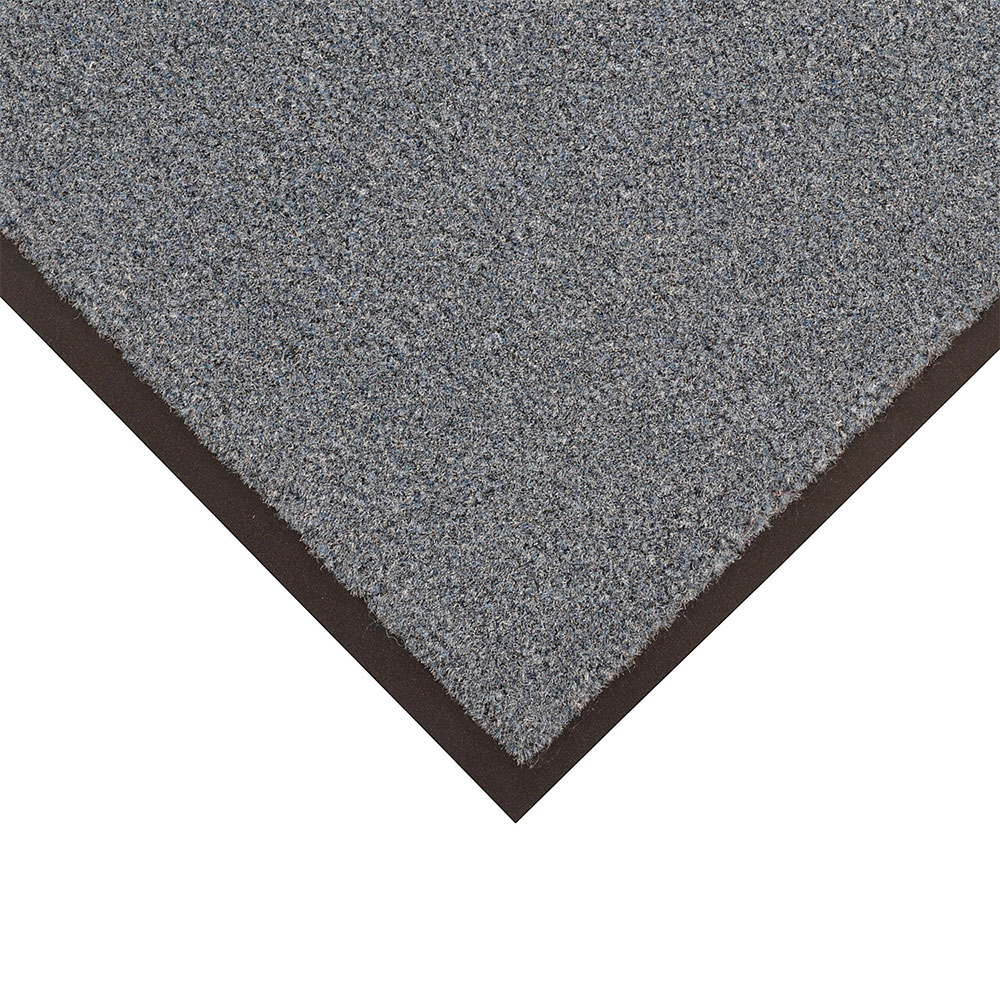 NoTrax 434-329 Atlantic Olefin Floor Mat, Exceptional Water Absorbtion, 4 x 8 ft, Gun Metal