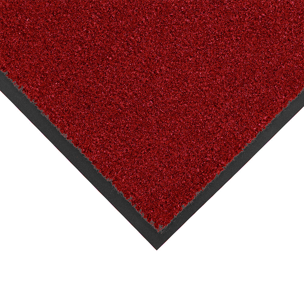 NoTrax 434-336 Atlantic Olefin Floor Mat, Exceptional Water Absorbtion, 4 x 6 ft, Crimson