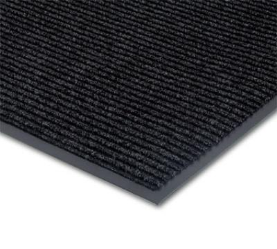 NoTrax 434-347 Bristol Ridge Scraper Floor Mat, 3 x 4 ft, Midnight