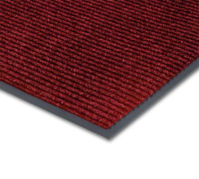 NoTrax 434-358 Bristol Ridge Scraper Floor Mat, 3 x 10 ft, Cardinal