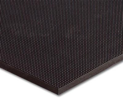 NoTrax 438022 Finger Scrape Entrance Floor Mat, 24 x 32 in, 3/8 in Thick, Black