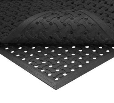 NoTrax 1002250 Superflow Reversible Grease Resistant Floor Mat, 3 x 5 ft, 5/8 in Thick,