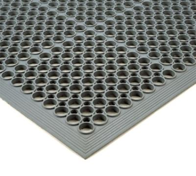 NoTrax 440450 Tek-Tough Jr Grease Resistant Floor Mat, 3 ft x 14 ft 8 in, 1/2 in Thick,