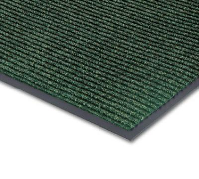 NoTrax 4457-862 Bristol Ridge Scraper Floor Mat, 3 x 5 ft, 1 in Vinyl Border, Forest Green