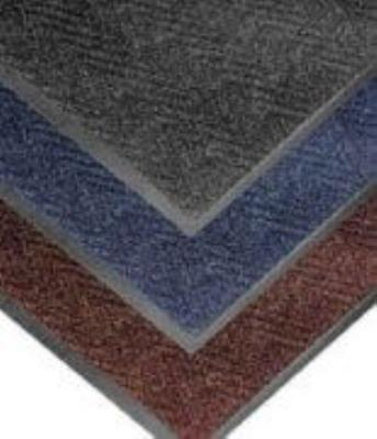 NoTrax 4459-118 Chevron Entrance Matting, Low Profile 5/16 in Thick, 3 x 5 ft, Dark Brown