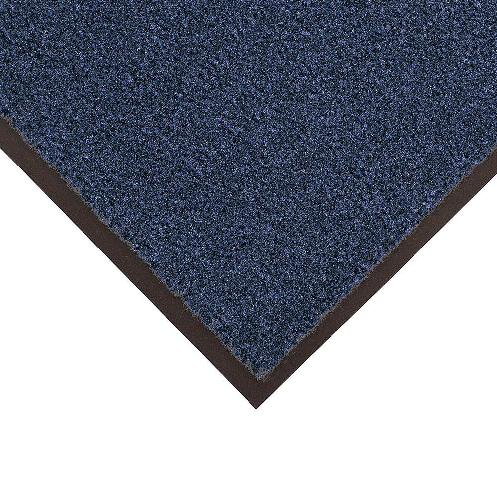 NoTrax 4468-082 Atlantic Olefin Floor Mat, Exceptional Water Absorbtion, 4 x 6 ft, Slate Blue