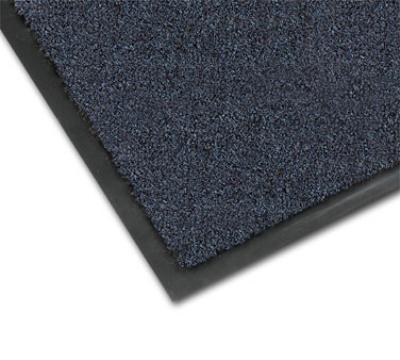 NoTrax 4468-102 Atlantic Olefin Floor Mat, Exceptional Water Absorbtion, 3 x 6 ft, Slate Blue