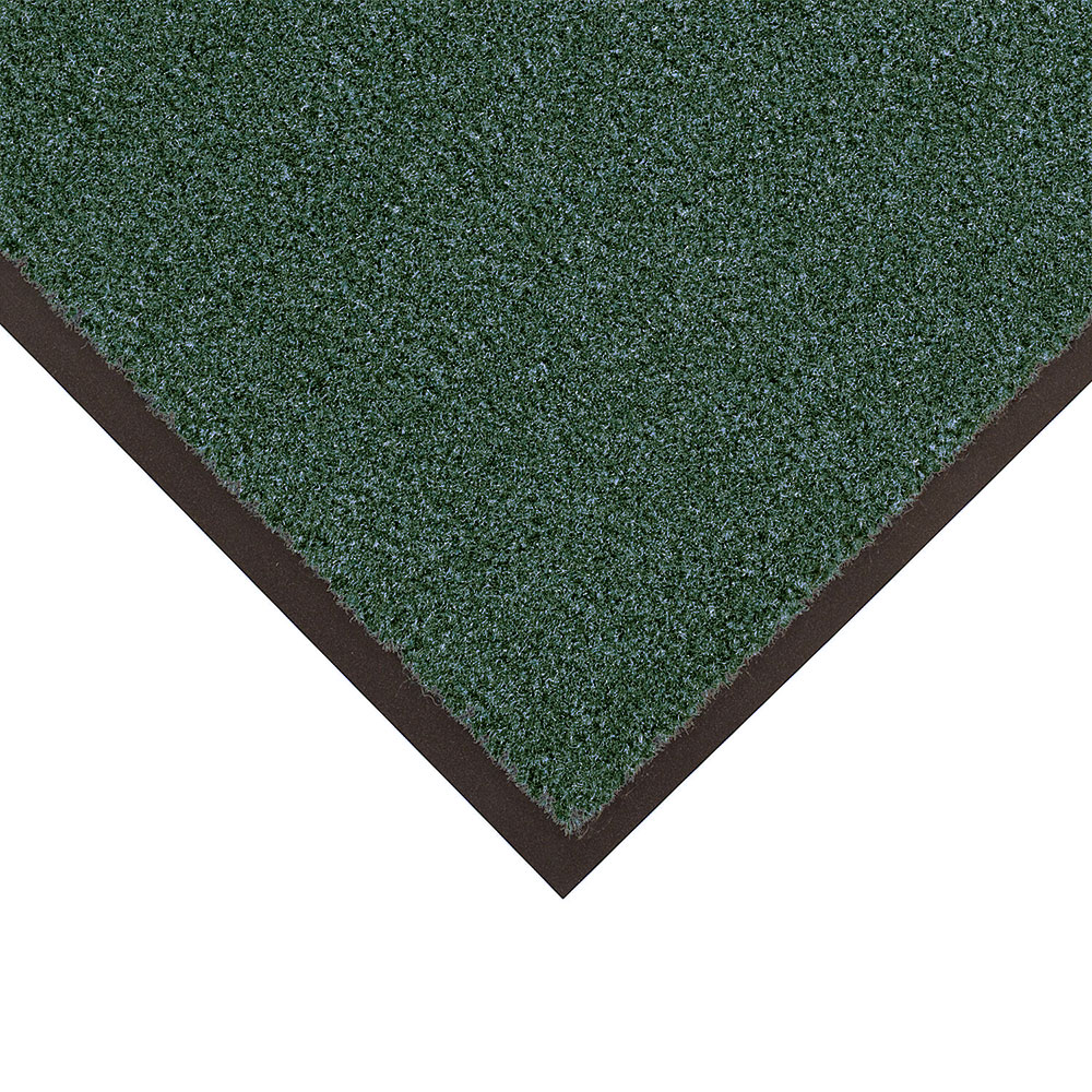 NoTrax 4468-127 Atlantic Olefin Floor Mat, Exceptional Water Absorbtion, 4 x 8 ft, Forest Gr
