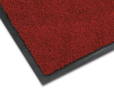 NoTrax 4468-132 Atlantic Olefin Floor Mat, Exceptional Water Absorbtion, 4 x 10 ft, Crimson
