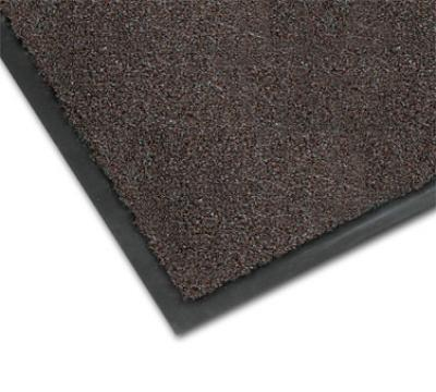 NoTrax 4468-133 Atlantic Olefin Floor Mat, Exceptional Water Absorbtion, 4 x 10 ft, Dark Toast