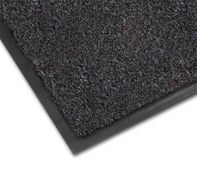 NoTrax 4468-135 Atlantic Olefin Floor Mat, Exceptional Water Absorbtion, 6 x 60 ft, Gun Metal