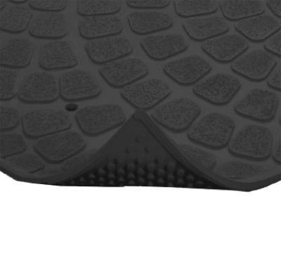 NoTrax 753602 Grip True General Purpose Floor Mat, 3 x 8 ft, 3/8 in Thick, Black