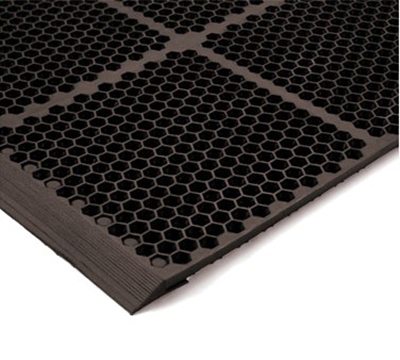 "NoTrax T15KB012BR Floor Mat Connector - For 36"" Mats, Brown"