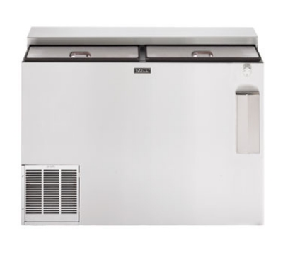 "Perlick BC48LT 48"" Forced Air 600-Capacity Bottle Cooler - Stainless Interior, 115v"