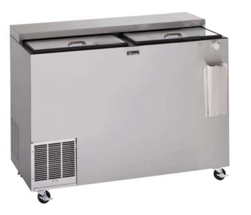 """Perlick BC60LT 60"""" Forced Air 720-Capacity Bottle Cooler - Stainless Interior, 115v"""