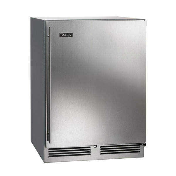 Perlick HC24FS Backbar Freezer w/ Pull-Out Shelves, 5.3-cu ft, 1-Section, Stainless
