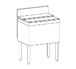 Perlick TS30IC 30-in Modular Ice Chest w/ ABS Top Ledge, 70-lb Capacity, Stainless