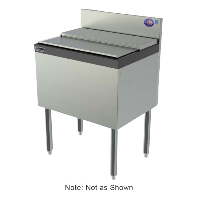 Perlick TSD24IC 24-in TSD Series Ice Chest w/ ABS Top Ledge, 50-lb, Stainless
