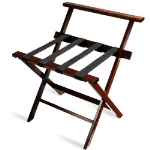 CSL Foodservice & Hospitality 1077CM-1 Wooden Luggage Rack