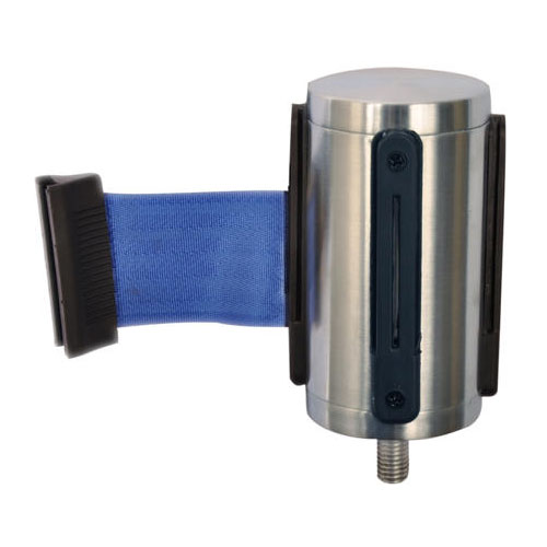 CSL Foodservice & Hospitality 5521-BLU Belt Head w/ 9.5-ft Blue Belt, Brushed Stainless