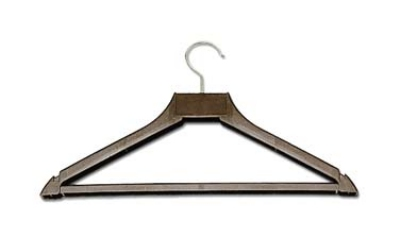 CSL Foodservice & Hospitality 1160-H 17-in Open Hook Hanger, Brown Plastic