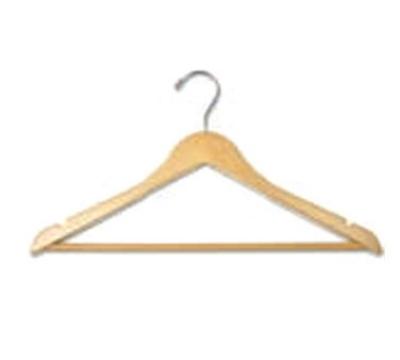 CSL Foodservice & Hospitality THA-11 CM Mens Contour Hanger w/ Regular H