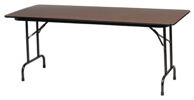 Royal Industries CORBT3072 Folding Rectangular Banquet Table, 3
