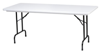 Royal Industries CORBTP3072 Folding Rectangular Banquet Table, 30 x 72-