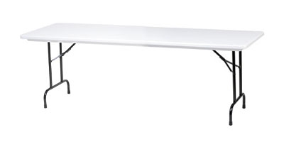 Royal Industries CORBTP3096 Folding Rectangular Banquet Table, 30 x 9