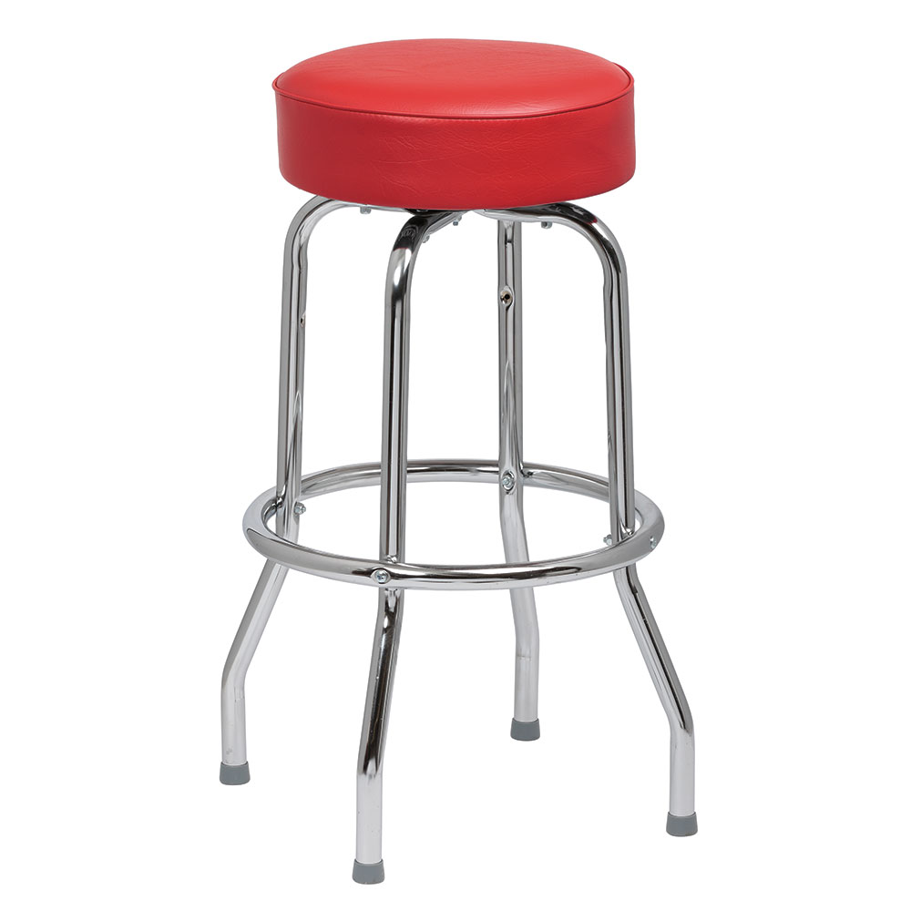 Royal Industries ROY 7711-2 R Assembled Single Ring Bar Stool