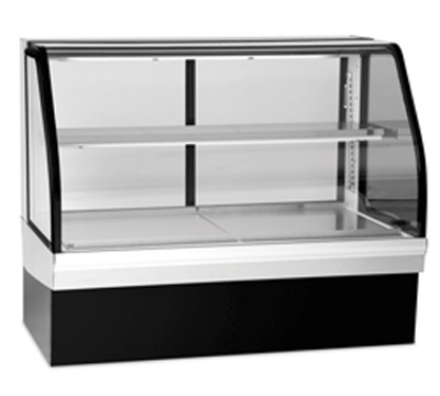 Federal Industries ECGR77CD 77-in Refrigerated Deli Case w/ Curved Front Glass, Adjustable Shelf