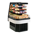 Federal Industries ECSS60SC 60-in End Cap Refrigerated Self-Serve Merchandiser w/ 3-Tiers, Black