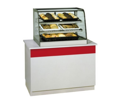 Federal Industries CD3628 36-in Countertop Non-Refrigerated Merchandiser w/ Sliding Glass Rear Doors