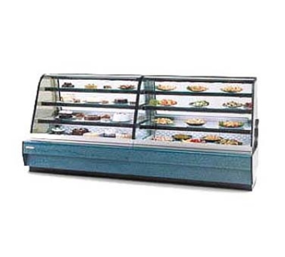 Federal Industries CGHIS-1 CH 59-in Curved Thermopane Glass Refrigerated Bakery Case, Cherry