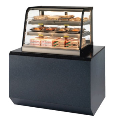 Federal Industries CH3628SS 35-in Counter Top Hot Self-Serve Merchandiser w/ 2-Tier Shelves