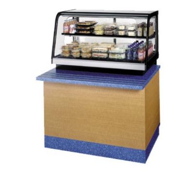 "Federal Industries CRB3628SS 36"" Countertop Refrigeration w/ Pass Thru Access - Sliding Door, Black, 120v"