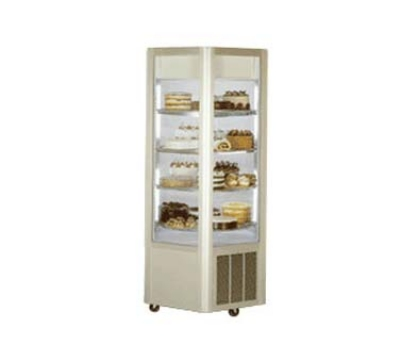 Federal Industries HXD-3575DZ 75-in Carasell Revolving Dual Zone Merchandiser w/ Refrigerated Top