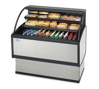 Federal Industries LPRSS4 NO 48-in Self-Serve Refrigerated Display Merchandiser, Natural Oak