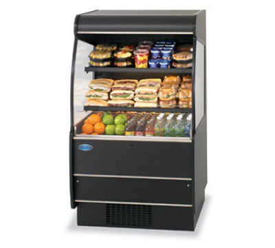 Federal Industries RSSM-460SC BLK 47-in Self-Serve Refrigerated Display Merchandiser, Black
