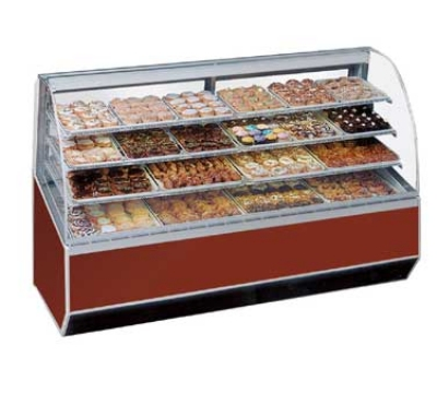 Federal Industries SN-48 BLK 48-in Bakery Case w/ Heat Reducing Vent System, Black