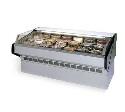 Federal Industries SQ-6CBSS WH 72-in Refrigerated Self-Serve Bakery Case w/ Solid State, White