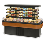 Federal Industries IMSS84SC-2 84-in Island Self-Serve Refrigerated Merchandiser w/ 2-Tier Shelves