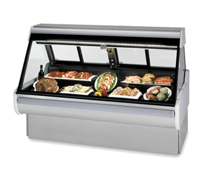 "Federal Industries MSG-454-DM 50"" Full Service Refrigerated Deli Case w/ Straight Gl"