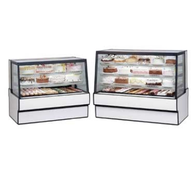Federal Industries SGR3648 BLK 36-in Sloped Thermopane Tilt-Front Glass Refrigerated Bakery Case, Black