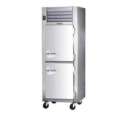 Traulsen AHF132WP-HHG 208 1-Section Pass-Thru Heated Cabinet w/ Half Glass Door, 208/115/1 V