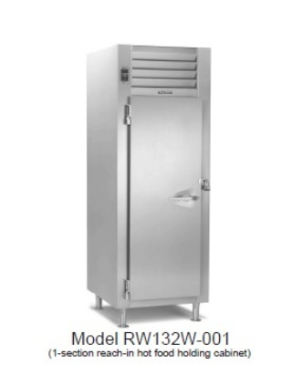 Traulsen RL232N-COR01 2-Section Reach-In Correctional Freezer w/ Full Door, Lock, 115 V